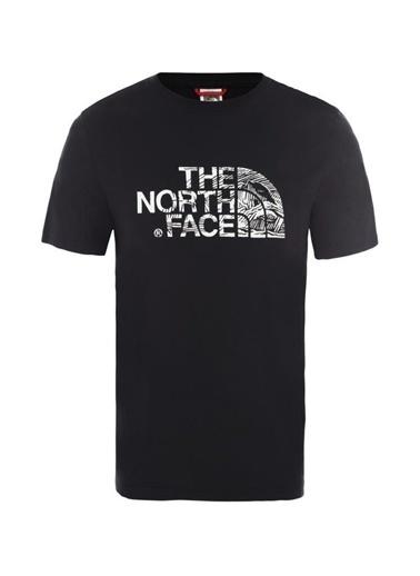 The North Face Erkek Tişört Woodcut Dome Nf00A3G1Jk31 Siyah
